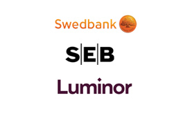 Swedbank, SEB, Luminor banklink